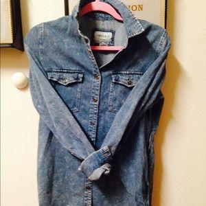 Forever 21 jean shirt/ dress